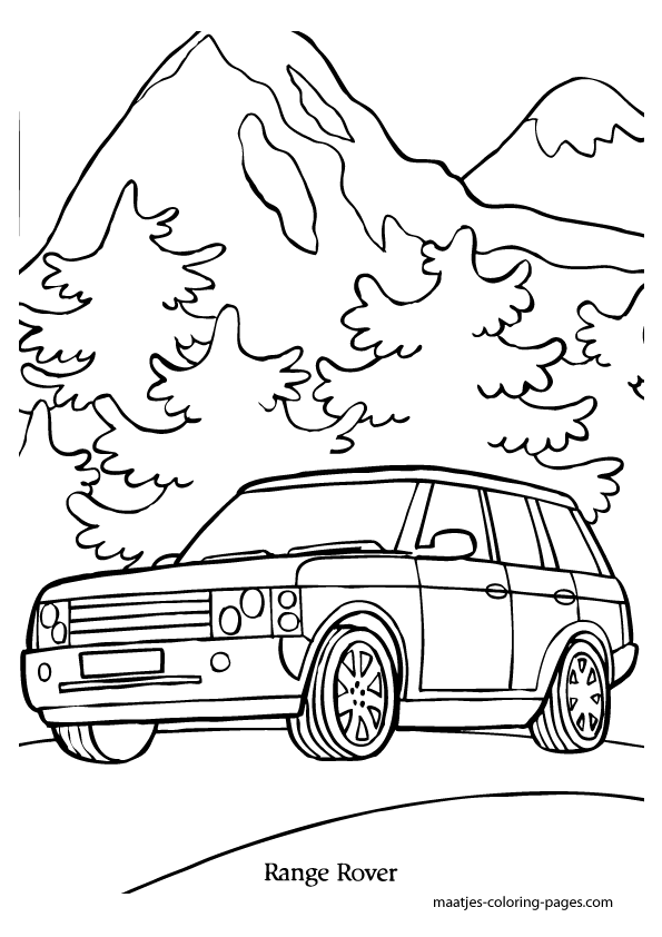 range rover sport free colouring pages sidney crosby range rover