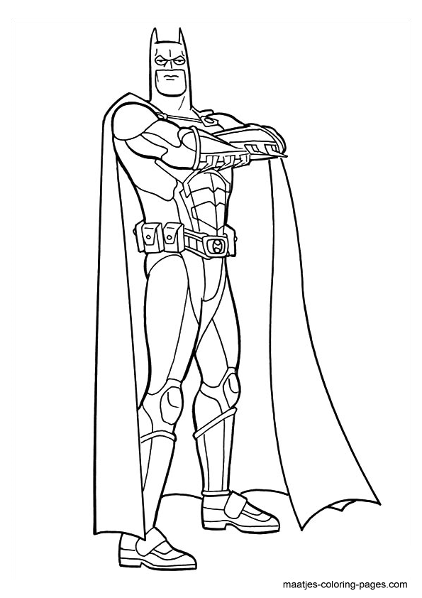 the dark night coloring pages - photo#24