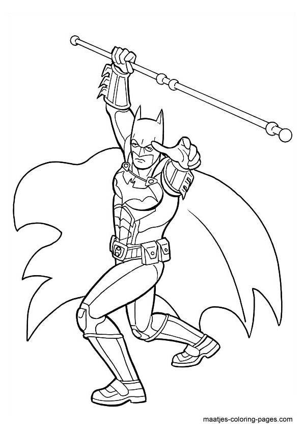 the dark night coloring pages - photo#20