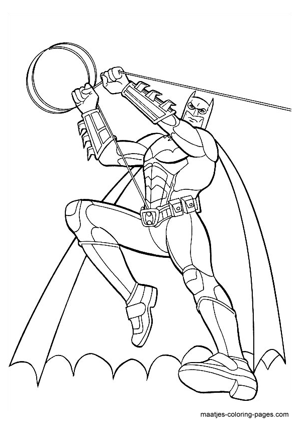 the dark night coloring pages - photo#18