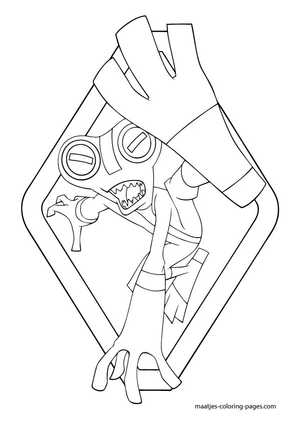 ben 10 coloring pages four arms - ben 10 four arms pages coloring pages