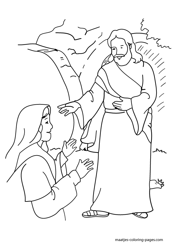do not worry bible coloring page coloring pages