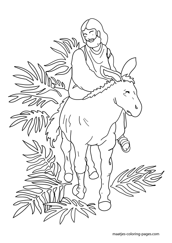 easter jesus coloring pages - photo#36