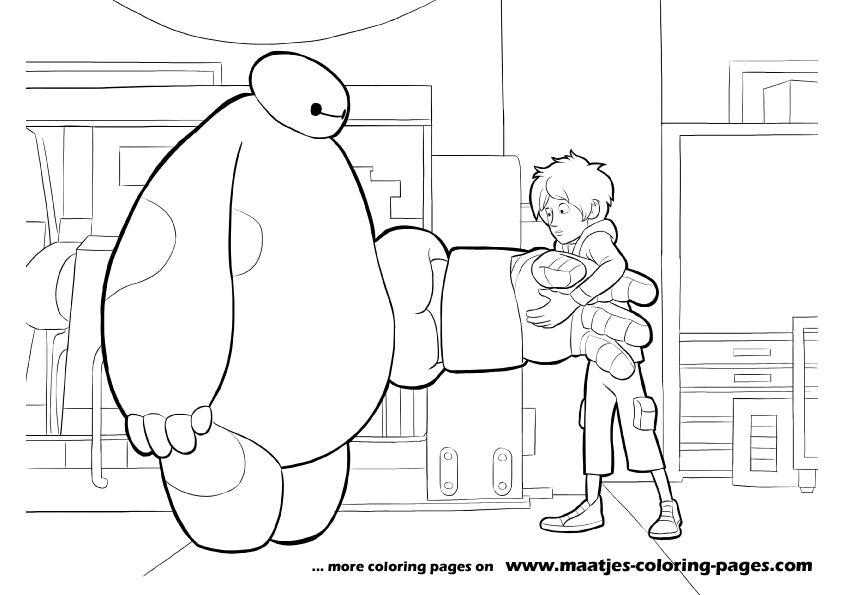 Baymax Suiting Up