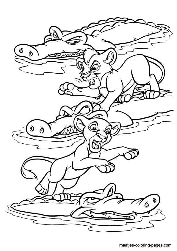 Lion King Coloring Page Wallpaper 2880 - Free Coloring Pages ... | 842x595