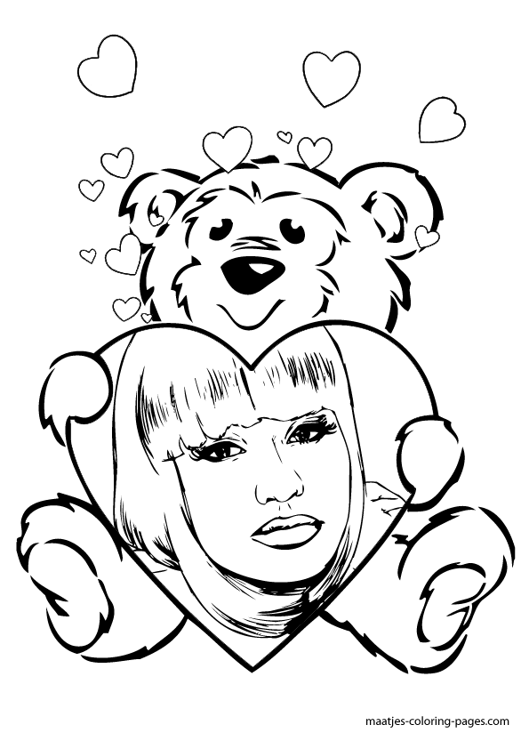 Nicki Minaj Coloring Pages http://maatjes-coloring-pages.com/valentines_day_coloring_pages_052.php