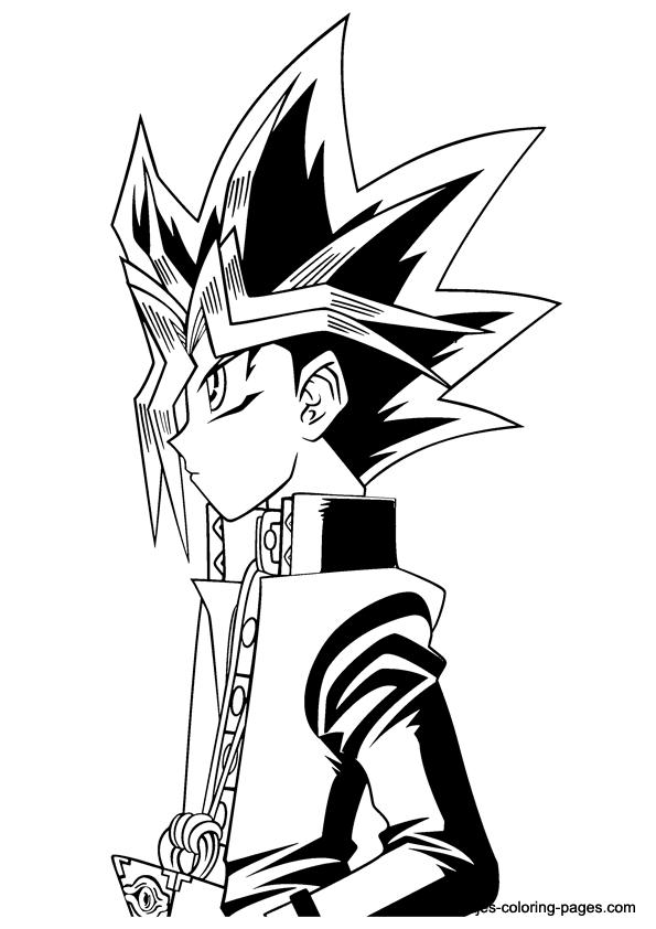 - Yu-Gi-Oh Coloring Page