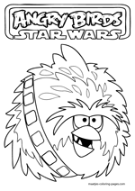 Big Brother Bird as Angry Birds Star Wars Chewie