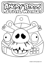 Moustache Pig as Angry Birds Star Wars Death Star Officer