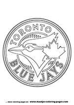 Toronto Blue Jays MLB Coloring Pages