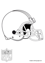 Cleveland Browns Logo NFL Coloring Pages