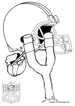 Cleveland Browns NFL Coloring Pages