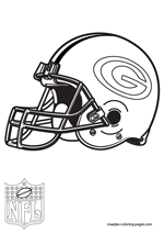 Green Bay Packers Logo NFL Coloring Pages