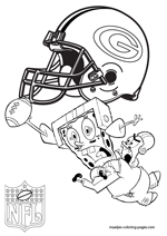 Green Bay Packers NFL Coloring Pages
