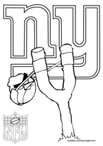 New York Giants NFL Coloring Pages