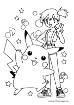 Misty and Pikachu