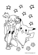 Pikachu and Misty