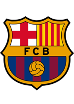 FC Barcelona soccer coloring pages