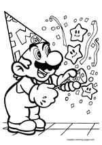 Super Mario anniversary birthday
