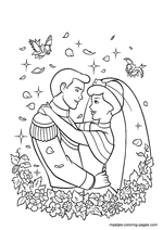 Free Valentines Day Coloring Pages For People In Love